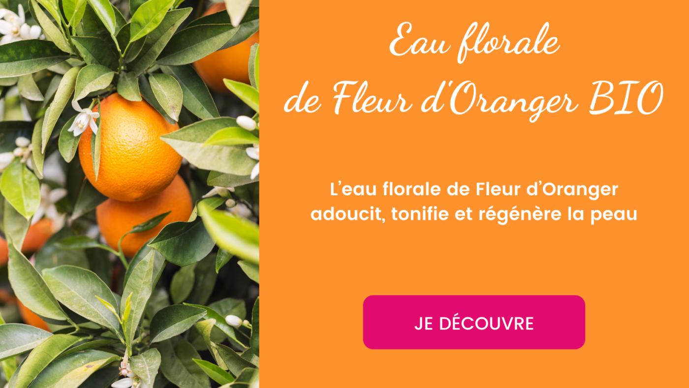 Eau florale d'oranger bio