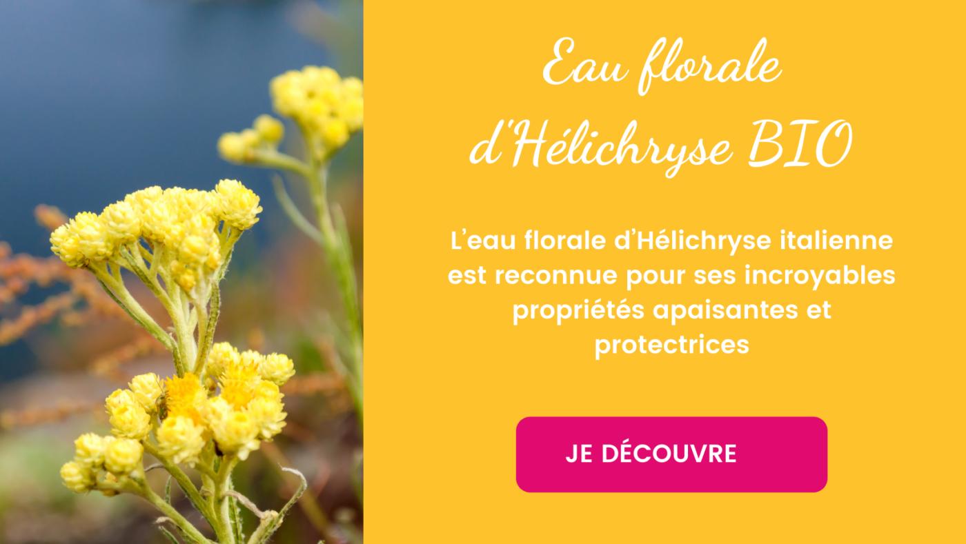Eau florale d'hélichryse bio