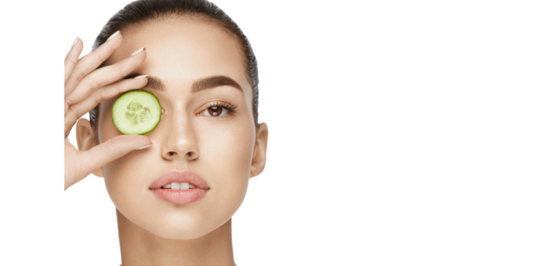 masque concombre anti-cerne